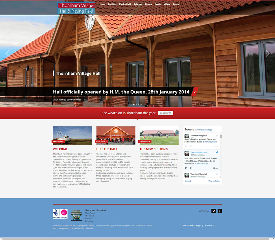 Norfolk Mobile Friendly Website Design